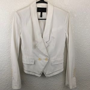 BCBG MAXAZRIA blazer white ABBY XS